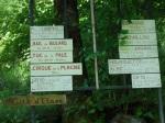 A l'entrée du village d'Eylie-d'en-Haut, erreur impossible...